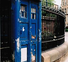 Police Box, Glasgow by theloneginger