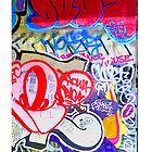 NYC Graffiti  iphone case 7 by andytechie