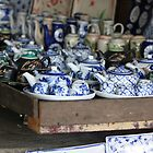 Teapots for Sale, Hoi An by theloneginger