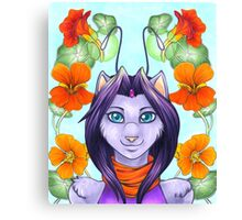 Fey Kitty Canvas Print
