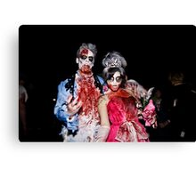 Zombies of the Month - September Canvas Print