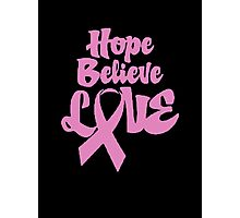 Breast Cancer III Photographic Print