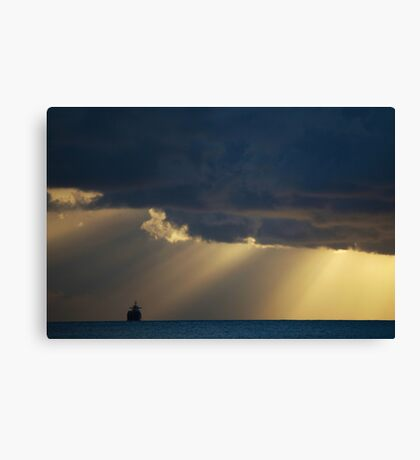 Any Port in a storm Canvas Print