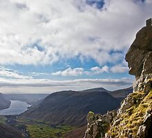 The sphinx overlooking Wastwater by Annabelle Studholme
