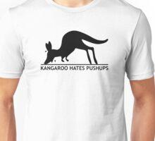 Kangaroo Hates Pushups Unisex T-Shirt