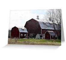 Michigan Farm Greeting Card