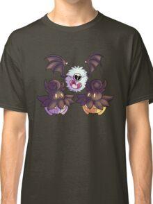 Halloween Pokemon - Pumpkaboo and Woobat Classic T-Shirt