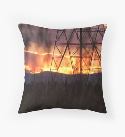 Veiled Passions Throw Pillow