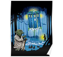 May the Tardis be with you, Dr Who Poster