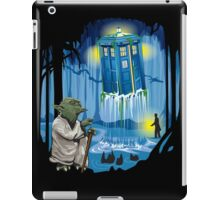 May the Tardis be with you, Dr Who iPad Case/Skin