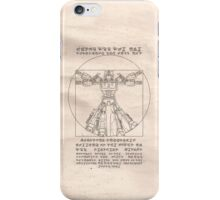 Vitruvian Prime iPhone Case/Skin