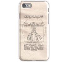 Vitruvian Prime iPhone Case/Skin