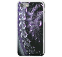Close up of violet wool iPhone Case/Skin