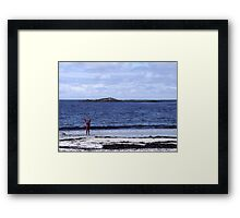 The Joy of Being Alive Framed Print