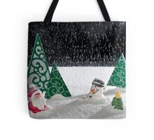 A Winter's Scene Tote Bag