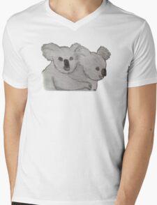Koala & Joey Mens V-Neck T-Shirt