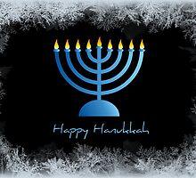 Happy Hanukkah - greeting card by Scott Mitchell