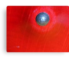 Red Button? Solved ~ Spinning Top ~ Canvas Print