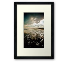 Wexford, Ireland, Curracloe Beach, New Years Day 2009  Framed Print