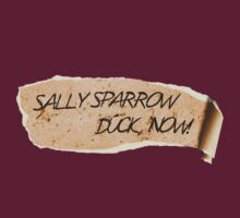Sally Sparrow, duck now! T-Shirt