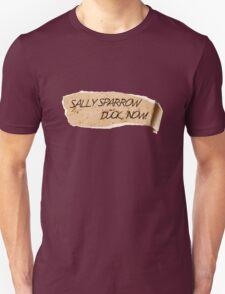 Sally Sparrow, duck now! T-Shirt