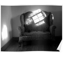 Sofa and Sun Poster
