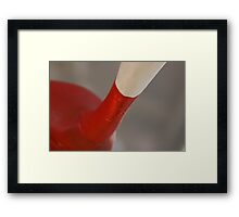 Red Herring? Solved by Bubblehex ~ Hot Dog #1 ~ Framed Print
