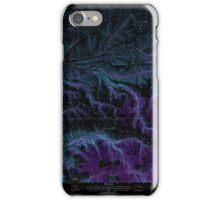 USGS Topo Map Washington State WA Cahill Mountain 240293 1995 24000 Inverted iPhone Case/Skin