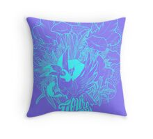 You're My Favourite Blue Throw Pillow