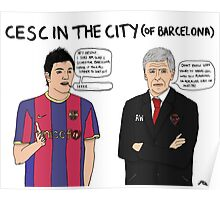 Cesc in the City Poster