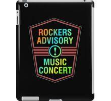 Colorful Rockers Advisory iPad Case/Skin