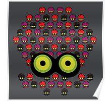 Splatoon Inspired: Octoling made of Octoling Poster