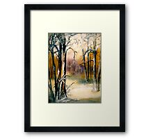 Sleeping...Winter... Framed Print