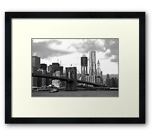 Brooklyn Bridge Park Framed Print