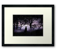 Shadow of Herne Framed Print