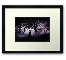 Shadow of Herne Framed Print