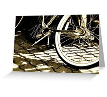 Out for a ride Greeting Card