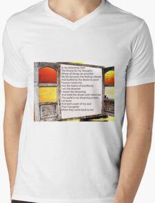 dreaming chair Mens V-Neck T-Shirt