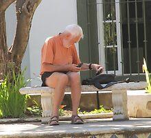 Taking a break - Haciendo una pausa, Puerto Vallarta, Mexico by PtoVallartaMex