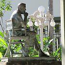 John Houston Sculpture / Isla Cuale, Puerto Vallarta, Mexico by PtoVallartaMex