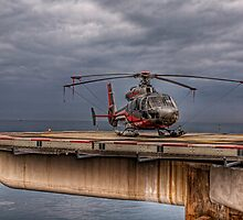 The Heliport in Monaco by NeilAlderney