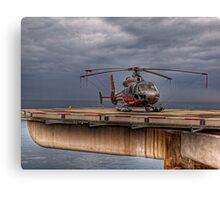 The Heliport in Monaco Canvas Print
