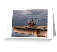The Heliport in Monaco Greeting Card