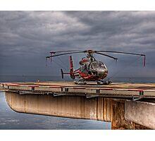 The Heliport in Monaco Photographic Print