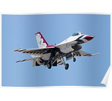 Head On with USAF Thunderbird 7 Poster