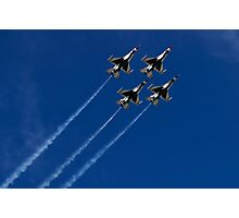 USAF Thunderbird Diamond Clover Loop Photographic Print