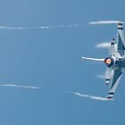 USAF Thunderbird Lead Solo 5 Throwing Vapor by Henry Plumley