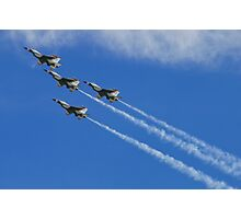 USAF Thunderbirds Five Card Loop Photographic Print