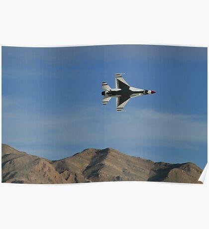 USAF Thunderbirds Solo Minimum Radius Turn Poster