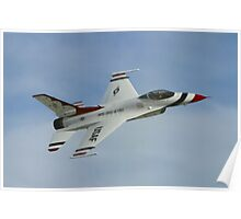 USAF Thunderbirds Solo Sneak Pass Poster